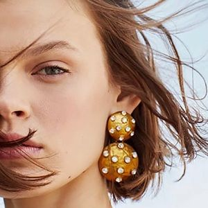 Jewelry - Bohemian gold earrings